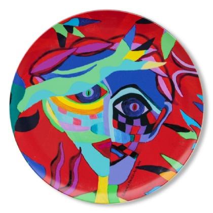 Plate Dante In Dispair